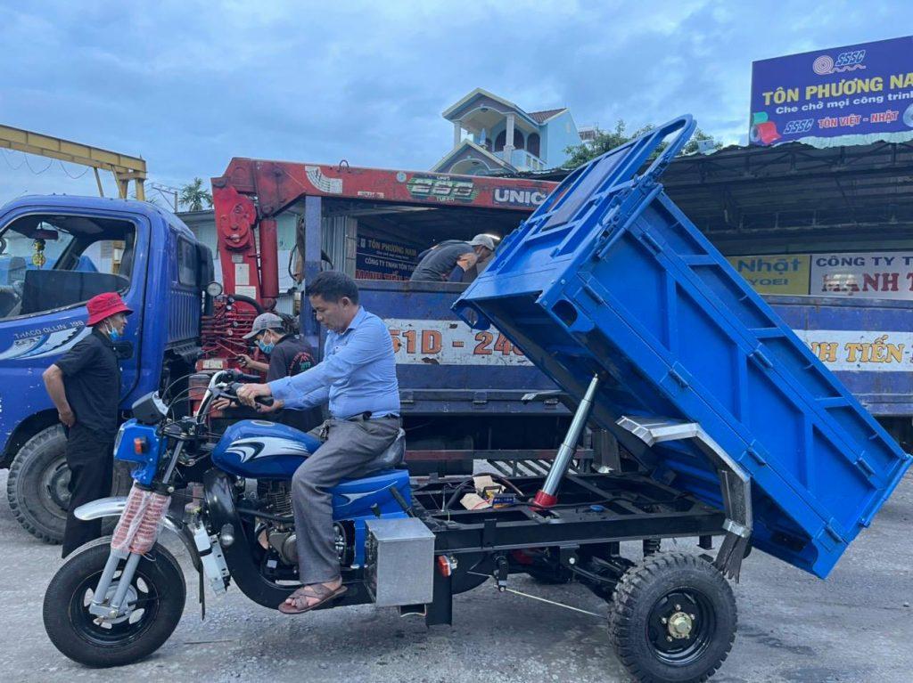 Xe ba gác Hoa Lâm là dòng xe uy tín được nhiều khách hàng lựa chọn tại Việt Nam